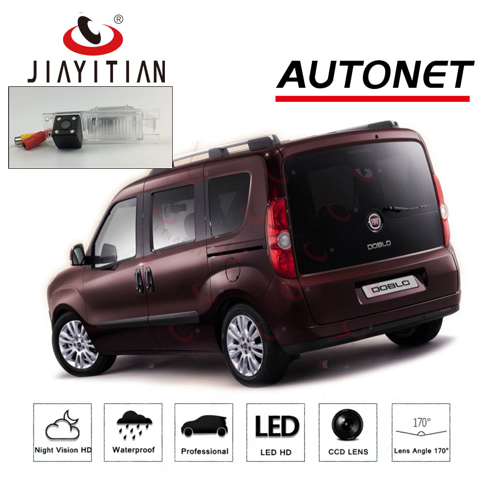 JiaYiTian Rear Camera For Opel Combo D Fiat Doblo 263 Doblo EV CCD Night Vision License Plate Camera Reverse Camera Backupcamera