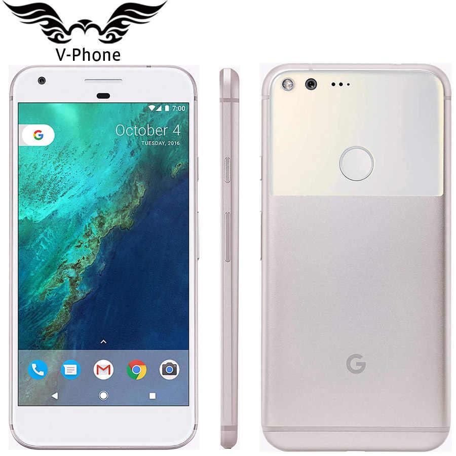 Teléfono Móvil nuevo 5,5 ''Google Pixel XL versión de EE. UU. Smartphone 32GB 128GB Android Snapdragon Quad Core huella digital 4G LTE