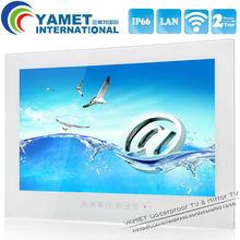 Envío libre 15.6 pulgadas Android 4.2 Impermeable LED TV WiFi TV Cuarto de baño-Negro/Color Blanco