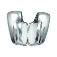 For Benz X156 W176 W212 W221 W204 A B C E S CLS Class ABS Chromed Side Door Mirror Wing Mirror Cover Replacement Car Accessories