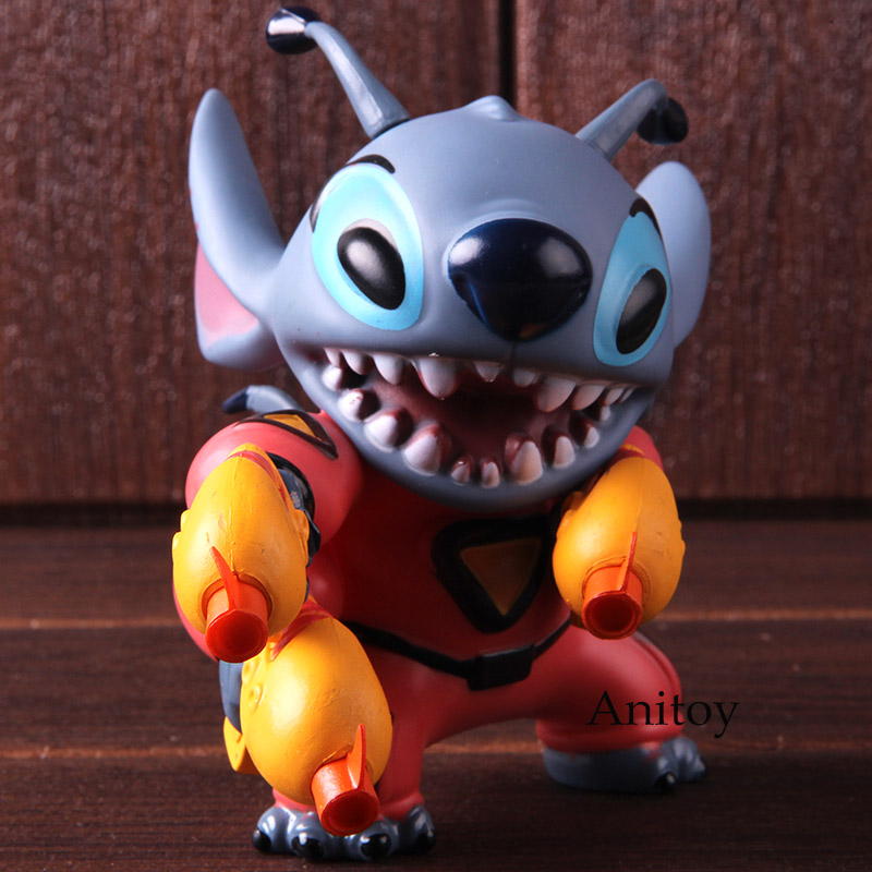 Lilo And Stitch Lilo Stitch Statue PVC Kawaii Action Figure Collectible Model Toy Doll