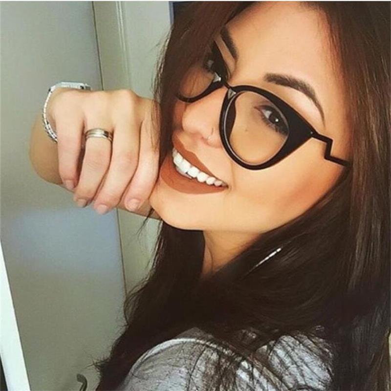 spectacles frame for ladies eye glasses frames for women fashion cat eye transparent glasses frames Objectif Clair Lunettes