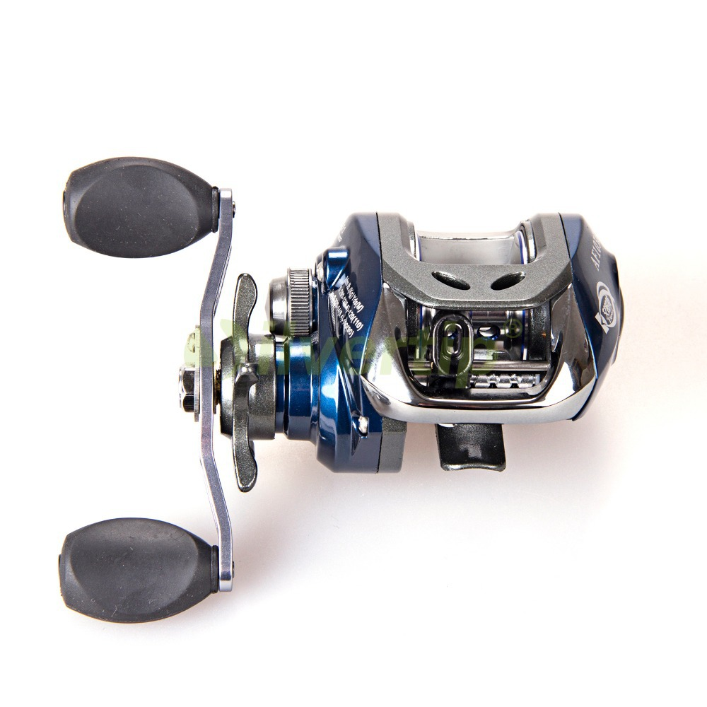 Free shipping 10 1 bb 6 3 1 baitcasting fishing reel bait for Baitcasting fishing reels