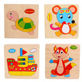 Retail Baby Children Educational Wooden Toys Puzzle Kids Brinquedos Educativos Toy Puzzles For Children PT82503