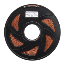1.75mm 1KG/Roll Copper Powder PLA 3D Printer Filament For CR-10 / Ender-3 A8 Tornado Accessories