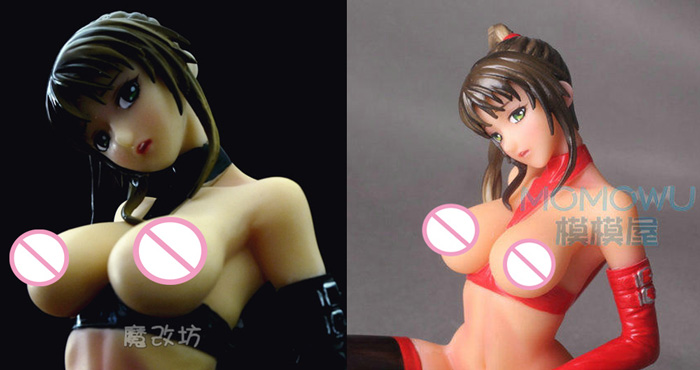 Hot Japan Game Anime Black Bible Black Red Imari Walnut Kai Daiki Super Sexy 17cm Scale Figure Figurine r12 sexy game