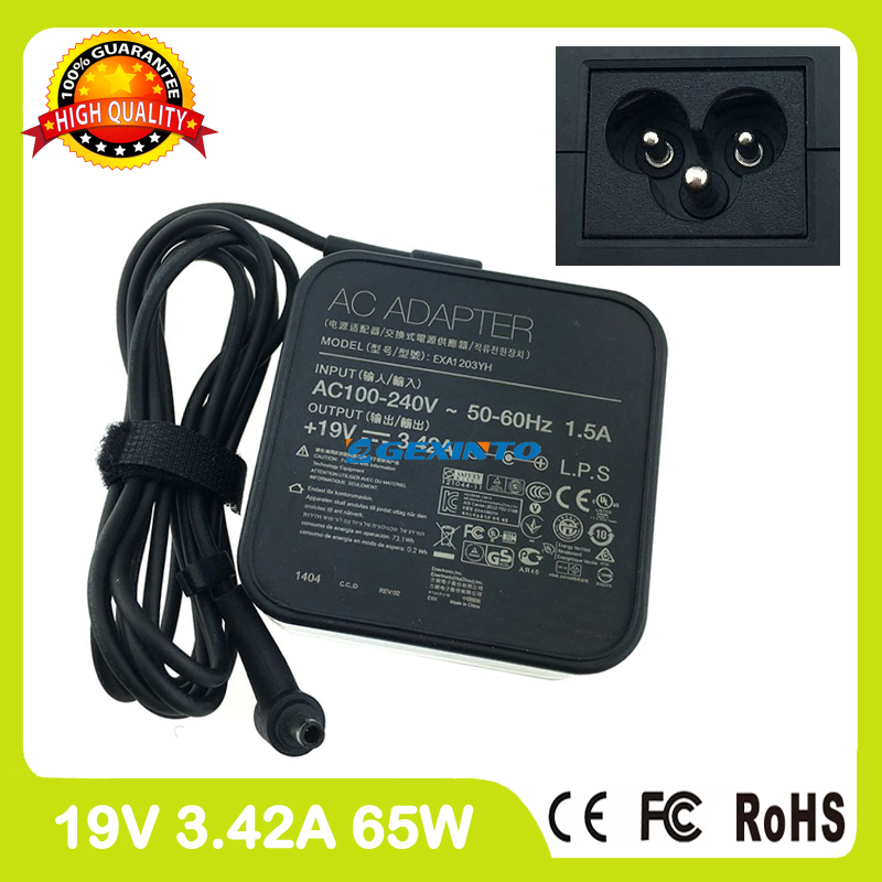 19V 3.42A ac power adapter laptop charger for Asus ASUSPRO Essential PU551LA PU551LD P452LA P452LJ P452SA