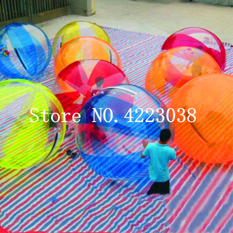 Outdoor Fun & Sports Toys & Hobbies Free Shipping 2m Inflatable Zorb Ball Human Humster Ball Water Walking Ball Air Water Balloon Inflatable Human Walking Ball