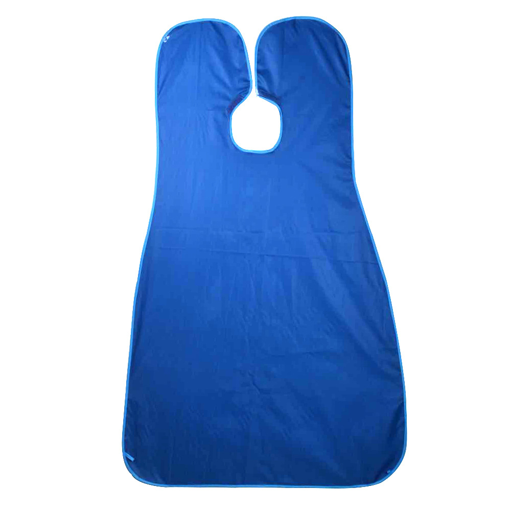 120x80cm Man Bathroom Apron Male Black Beard Apron Hair Shave Apron for Man Waterproof Floral Cloth Household Cleaning Protector