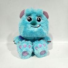 Ücretsiz kargo 28cm James P. Sullivan bebek peluş oyuncak Sulley Sullivan doldurulmuş oyuncak çocuk hediyeler için doğum günü