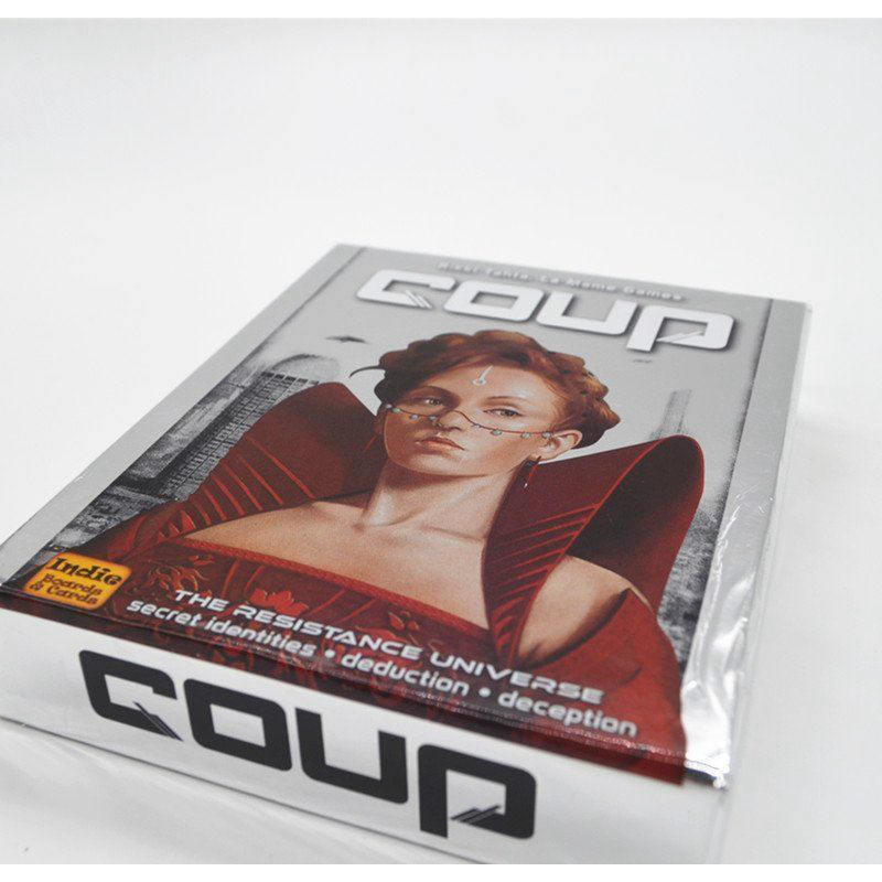 Coup Reformation Board Game Party Game English and Chinese Version Children Gift
