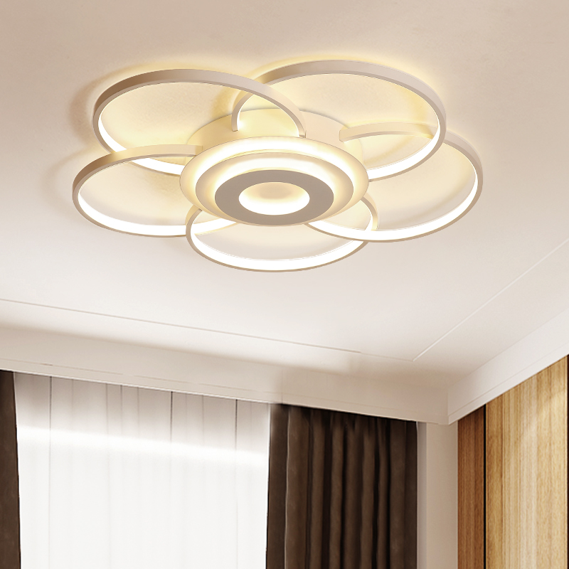 Chandelier Lighhting Modern Living room Bedroom Lights Aluminun wave Ceiling Chandelier AC90-265V Modern Dimmable Chandelier chandelier lighting modern aluminun wave mounted bedroom living room chandelier home deco dimmable ceiling chandelier lightings