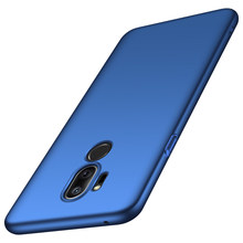 For LG G7 ThinQ Case Ultra Thin PC Hard Case For LG G710 High Quality Fitted Cases For G7 ThinQ Phone Cover Black Blue Gold Red(China)