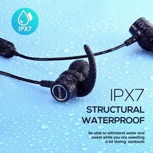 Image 2 - Mpow S10 IPX7 למי אוזניות ספורט Bluetooth 4.1 אוזניות מגנטיות 8H זמן משחק אוזניות עבור iPhone Xiaomi SONY