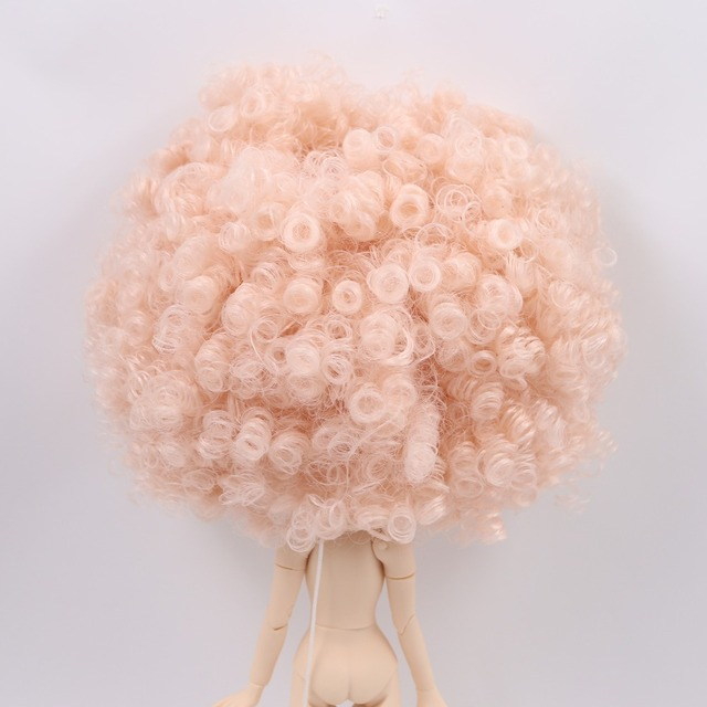 Neo Blythe Doll Scalp & Dome Afro Hair Wig