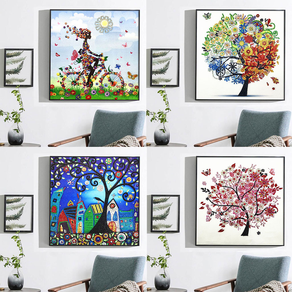 Full Embroidery Painting Rhinestone Pasted 5D DIY Diamond Painting Cross Stitch