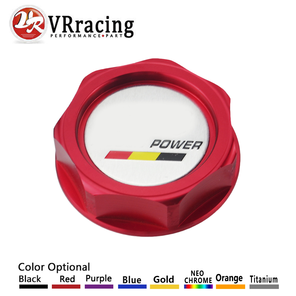 Logo honda rouge - Vr Racing Nouvelle Tasse Puissance Embleme Twist Sur Huile Moteur Bouchon Badge Pour