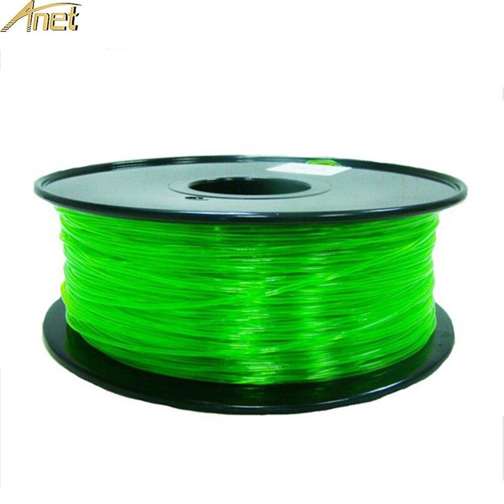 Impressora PETG Filamento 1.75 milímetros Material 1 3D KG PETG Plástico Consumíveis Material Para Impressoras com 100% de Materiais Virgens 10 3D cores