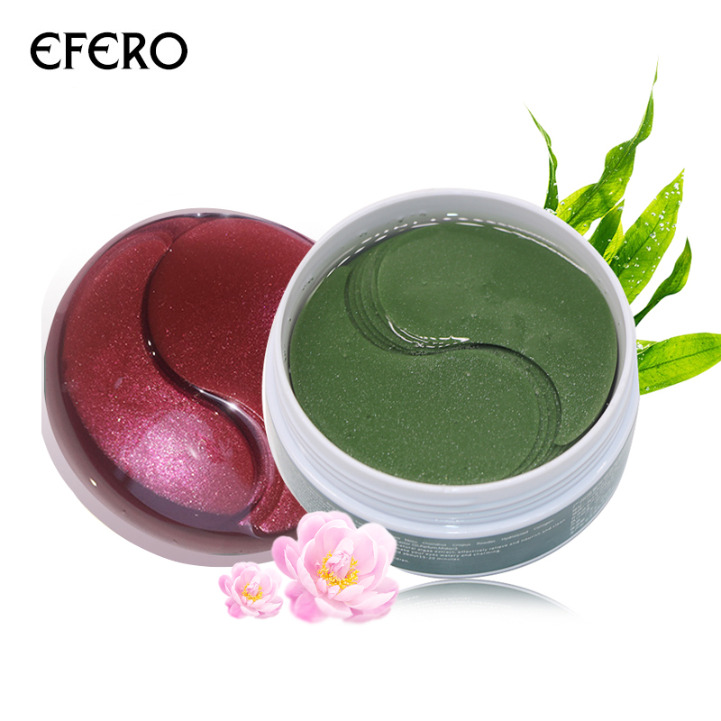 EFERO Collagen Eye Mask Anti Wrinkle Under Eyes Care Eye Gel Patches Face Care Sleep Patches Hydrogel Masks Dark Circles 120pcs
