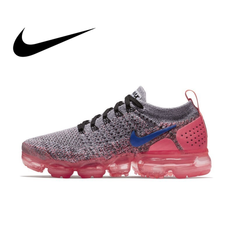 nouveau produit 7c14b 35c48 US $59.4 55% OFF|Official Original NIKE Air Max Vapormax Flyknit Women's  Running Shoes Sneakers Breathable Rubber Cushioning Lace Up 942843 Cozy-in  ...