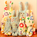 Lovely Creative Japan CRAFTHOLIC Colourful Rabbit Plush Stuffed Toy Doll
