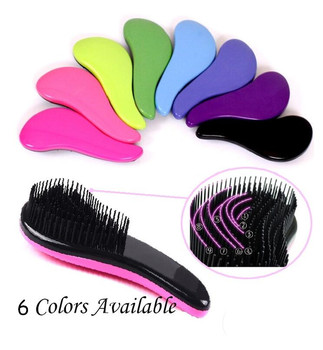Candy Color 15CM Hair Brush Comb Charming Hair Massage Comb Styling Beauty Styling Hair Care Comb Shower Massager Detangle Brush