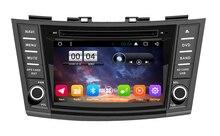 """Envío Libre 7 """"Android 6.0 de DVD Del Coche para Suzuki swift 2012 2013 2014 Del Coche de Radio navegación GPS headunit estéreo grabadora"""