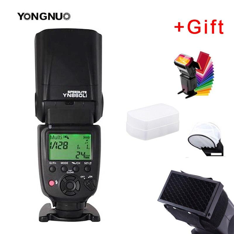 YONGNUO YN860Li Wireless Flash Speedlite YN560 TX II Manual Flash Trigger Remote Controller for Canon Nikon