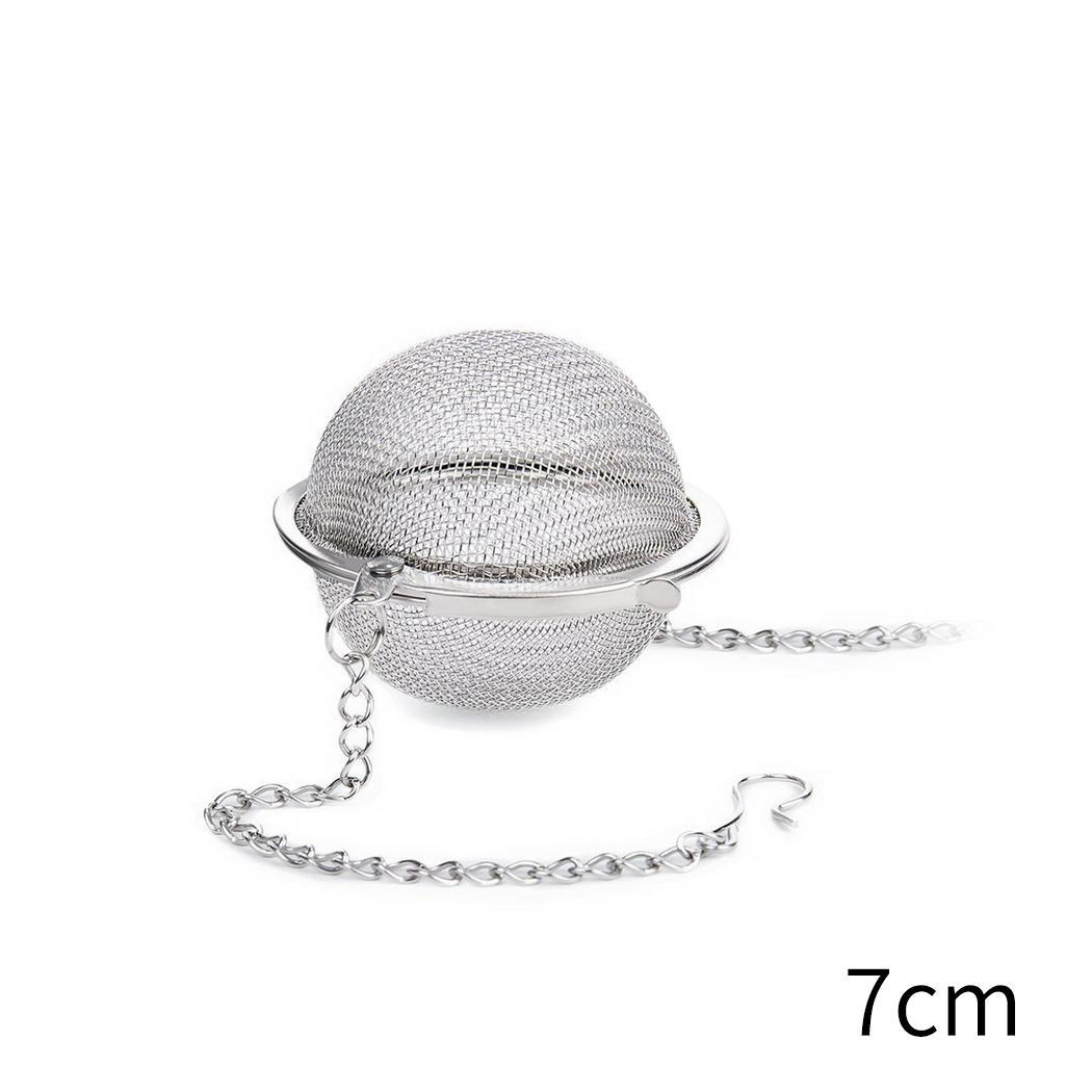 Hot Sale Seasoning Balls Stainless Steel Mesh Tea Infuser Strainers Spice Ball Tea Home As Picture Filter For Home Supplies