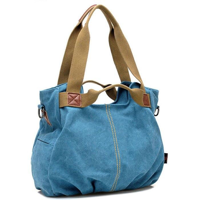 2016 bag ladies canvas handbags sac a main femme de marque vintage women messenger bags