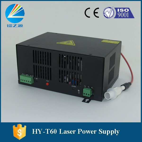 Hy-t60 Laser Power Supply For Mini Wood Engraving Machine Fashionable In Style;