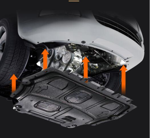 Modification of chassis baffle for Geely Yuanjing X3 lower baffle for engine baffle in 2017 2018