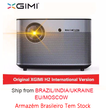 XGIMI H2 1920*1080 dlp proyector Full HD 1350 lúmenes ANSI 3D proyector soporte 4 K Android wifi Bluetooth beamer