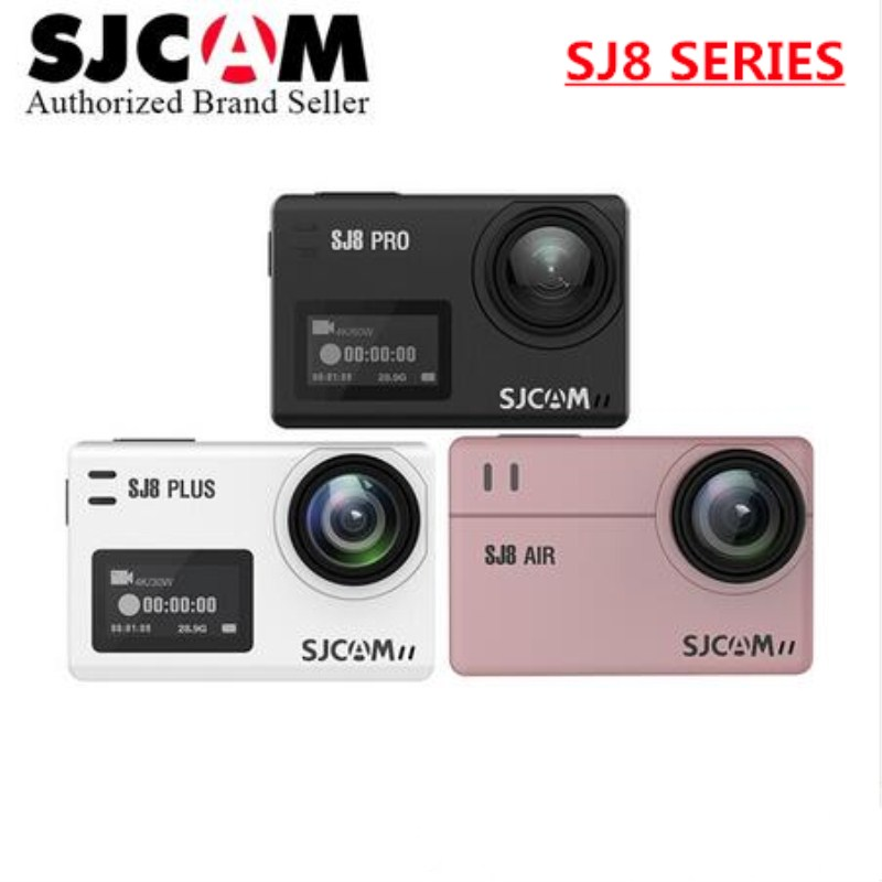 SJCAM SJ8 Air & SJ8 Plus & SJ8 Pro 1290P yi 4K Action Camera WIFI Remote Control go Waterproof pro camara deportiva SJ sports DV sjcam sj8 pro белый