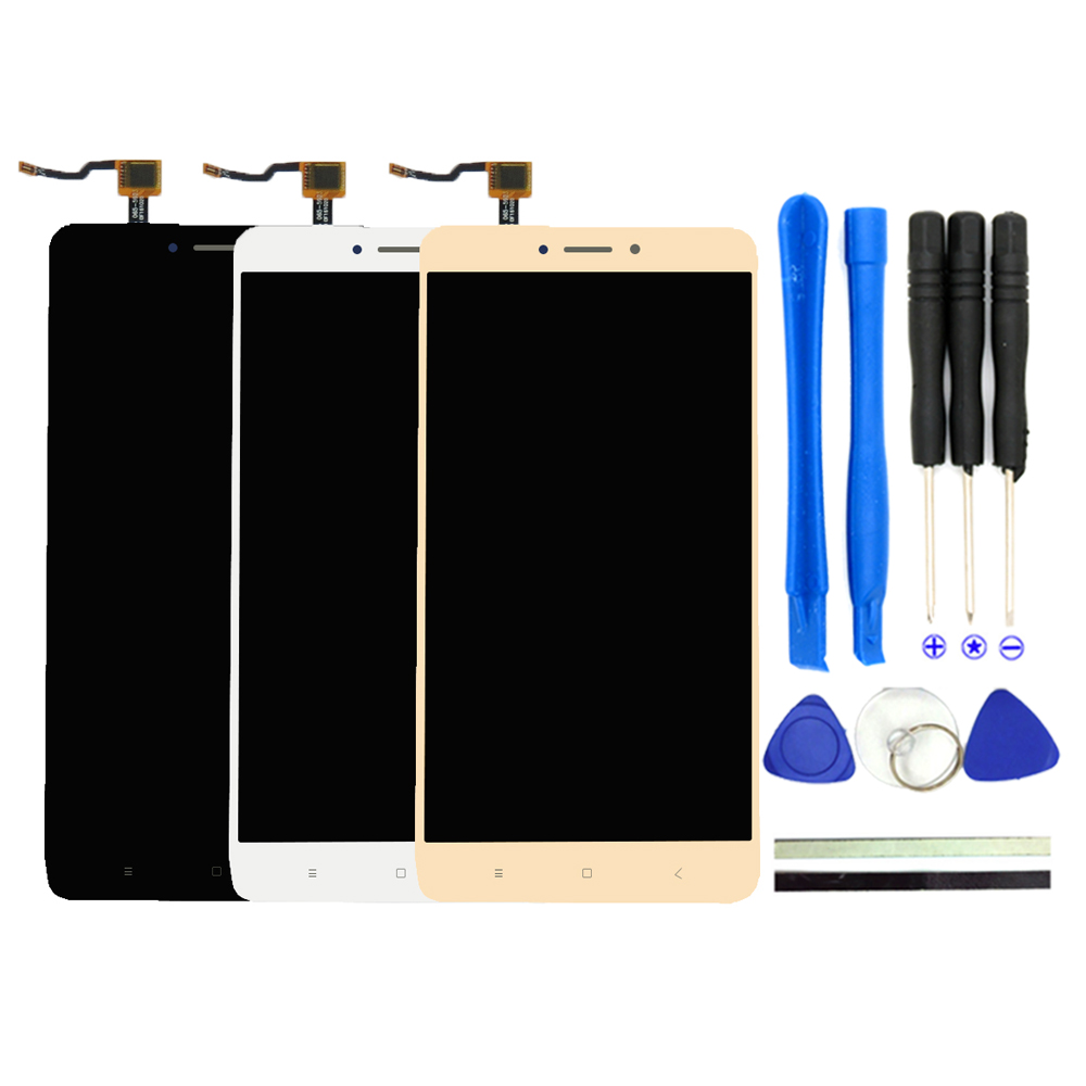 2017 New For Xiaomi Mi Max 2 LCD Display + Touch Screen Digitizer 6.44inches Mi Max2 MI Max 2 CellPhone Parts With Free Tools