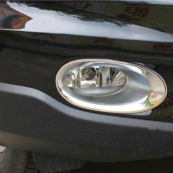 4e14aeb8a8ca Coche delantero niebla luz lámpara anillo Trim para Honda CRV CR-V 2010  2011 Auto