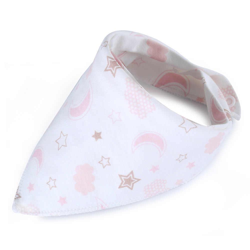 ผ้าพันคอเด็กผ้าฝ้ายเด็กการ์ตูน Babador Flamingos แรกเกิดผ้าเช็ดตัว SMOCK เด็ก Burp ผ้าเด็กทารกกินผ้าพันคอ