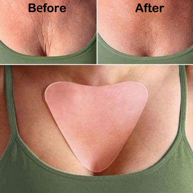 Anti Wrinkle Chest Pad to Prevent and Eliminate Wrinkles 100% Grade Silicone Skin Beauty Care Protect Lines 5