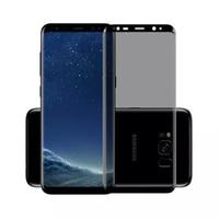 Vidrio Templado curvado 3D para Samsung Galaxy S9, S8 Plus, Note 8, 9, Protección de Privacidad, cubierta completa, Protector de pantalla antiespía