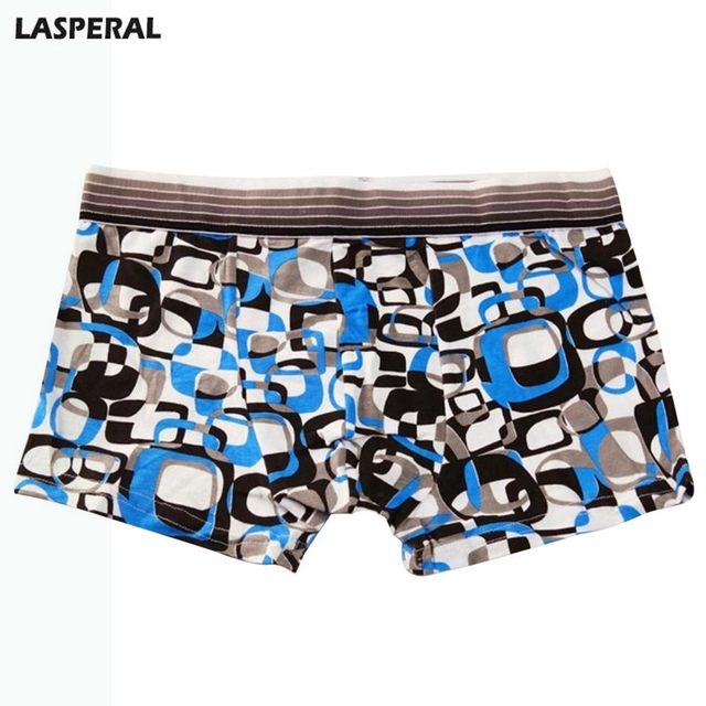 LASPERAL Male Breathable Panties Boxer Fashion Man Underwear Sexy Lovely Print Homme Comfortable Male Shorts Boxer Hot Sale