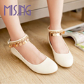 Hot sales women shoes Spring Autumn Comfortable Casual Shoes round toe Glitter Mary Janes Buckle Strap shoes for women