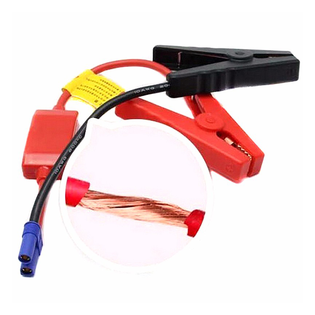 Image 2 - 200A 12V Anti backlash Car Trucks Jump Starter Emergency Battery Clamp Power Cable Alligator Clip