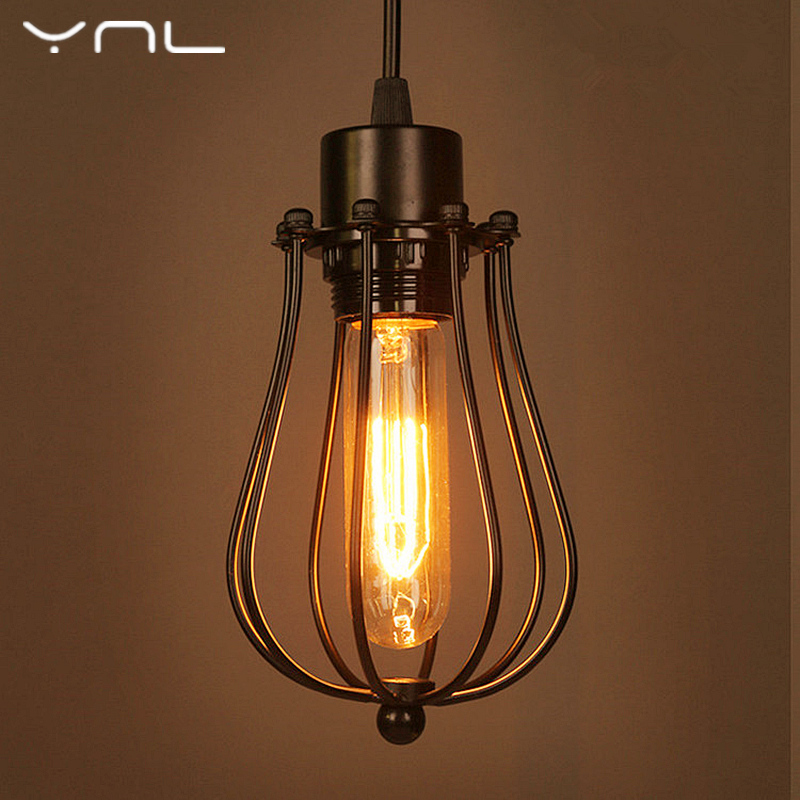 ynl cord led pendant lights e27 retro celling lights with ed