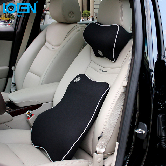 Superb Us 75 99 Loen 1 Set Car Neck Pillow Lumbar Support For Office Chair Seat Supports For Back Seat Lumbar Cushion For Car Back Massager Car In Seat Creativecarmelina Interior Chair Design Creativecarmelinacom