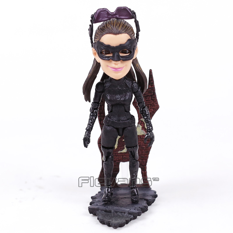 TOYS ROCKA! The Dark Night Rises Batman Bane Joker Catwoman PVC Action Figure Collectible Model Toy 4 Styles 12~14cm