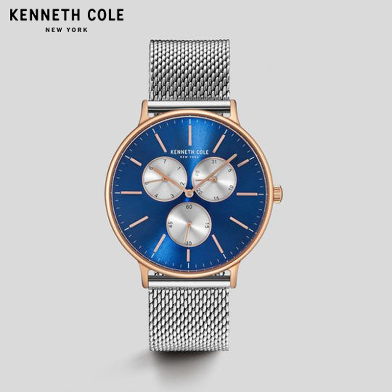 Kenneth Cole Herenhorloges KC14946011 Quartz Simple Stainless Steel - Herenhorloges