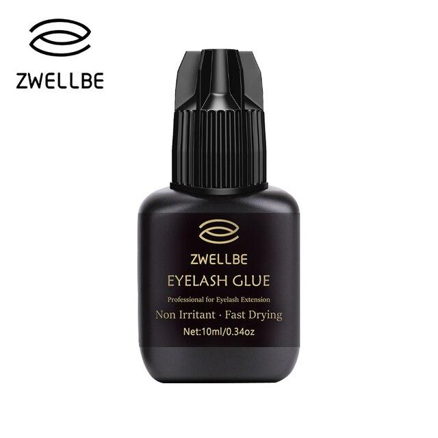 Zwellbe 10ml Eyelash Extension Glue 1 3 Seconds Fast Drying