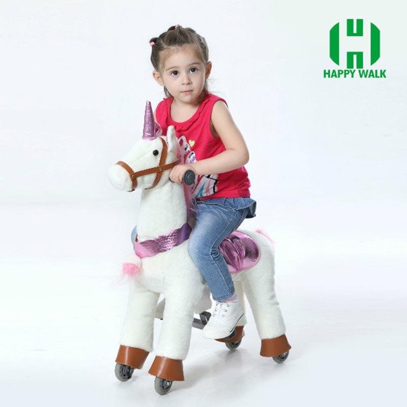 HI CE caballo de juguete al aire libre del patio sobre ruedas, - Deportes y aire libre - foto 2