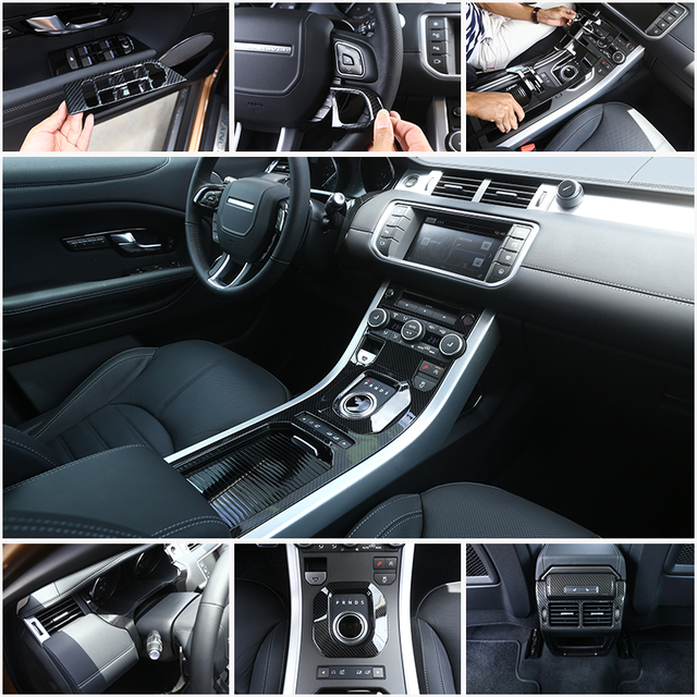 Carbon Fiber ABS Plastic Car Accessories For Land Rover Range Rover ...