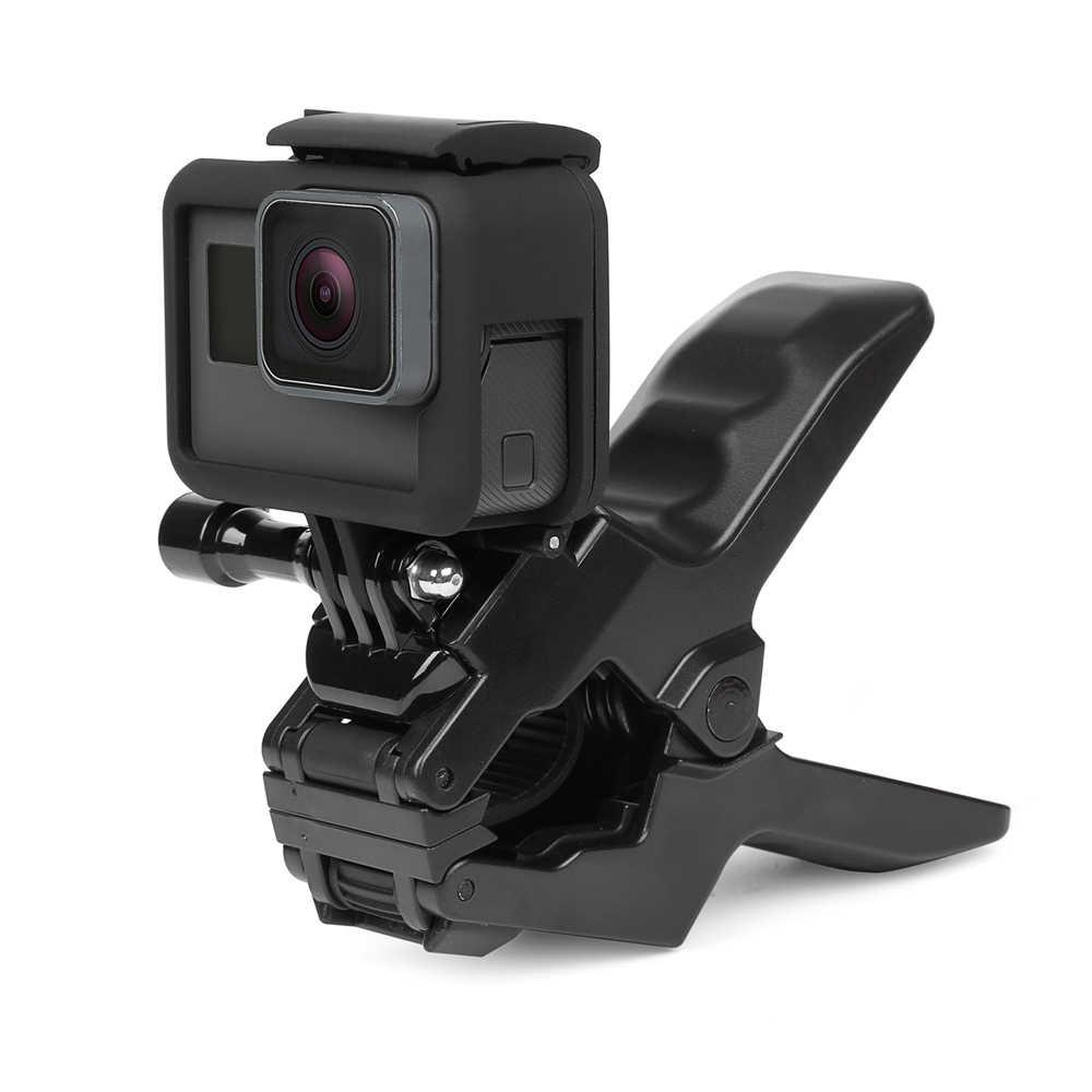Штатив с гибким зажимом для GoPro Hero 8 7 5 Black Sjcam M10 Xiaomi Yi 4K Eken Dji Osmo Go Pro 7 аксессуары для камеры